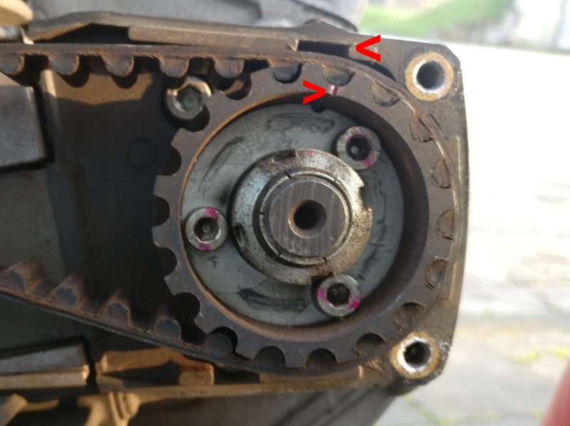 wechsel hd motorrad antriebsriemen